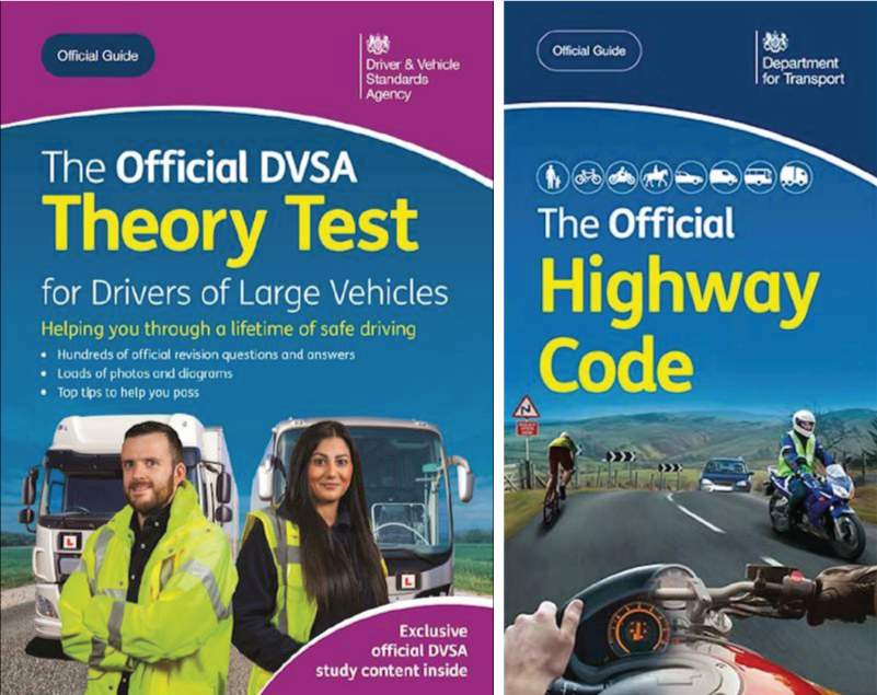 The Official DVSA Theory Test for LGV / PCV Book & Highway Code