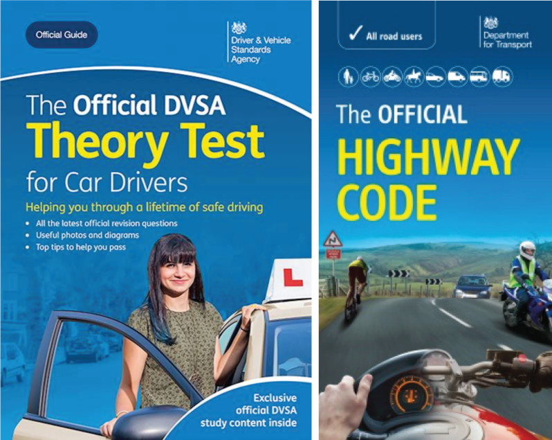 The Official DVSA Theory Test for Cars Book & Highway Code