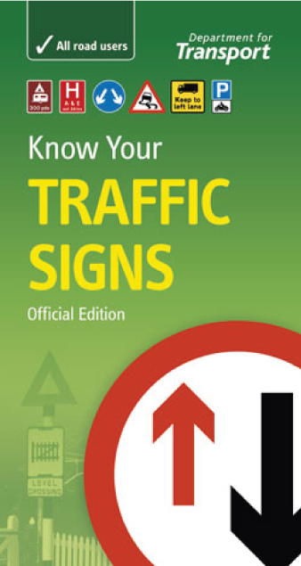 Know Your Traffic Signs Book